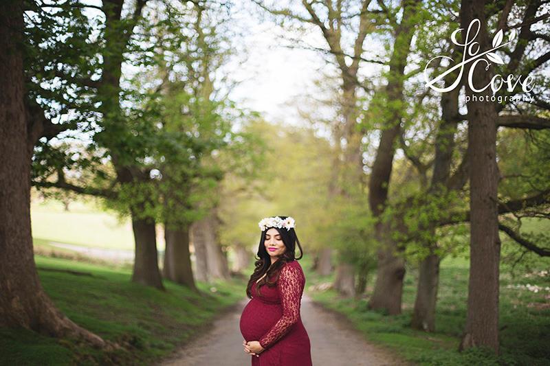 maternity photoshoots on location